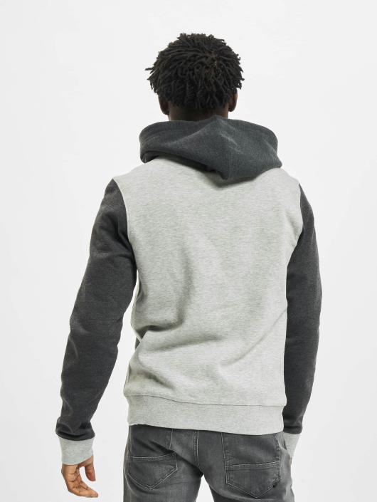 Urban Classics Zip Hoodie 3 Tone Zip èierna