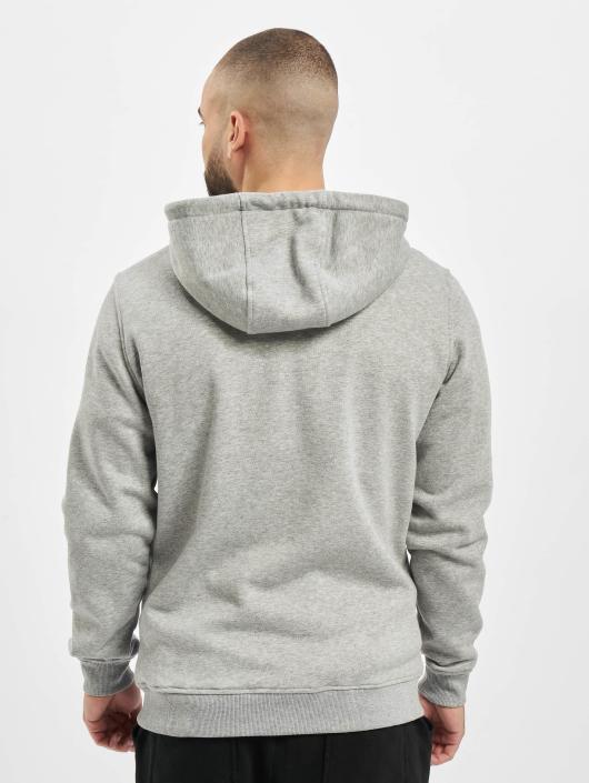 Urban Classics Zip Hoodie Basic šedá