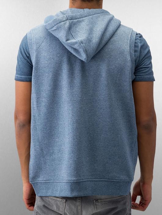 Urban Classics Zip Hoodie Melange Hooded blue