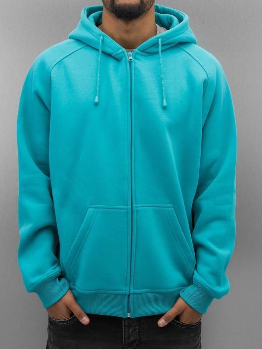 Urban Classics Zip Hoodie Blank blue