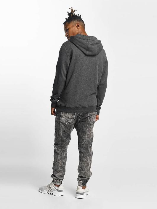 Urban Classics Zip Hoodie Basic gray