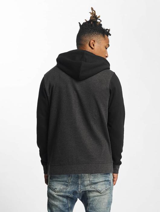 Urban Classics Zip Hoodie 3 Tone gray