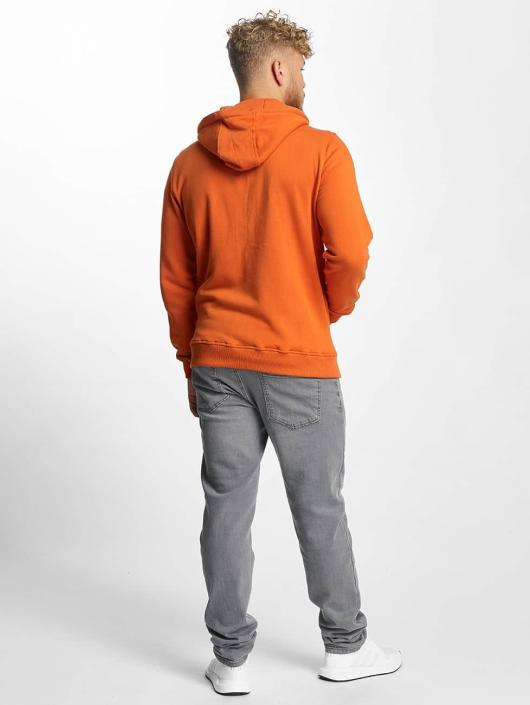 Urban Classics Zip Hoodie Basic orange
