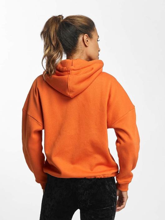 Urban Classics Zip Hoodie Kimono oransje