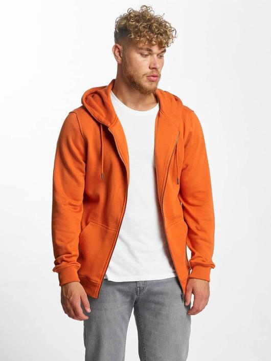 Urban Classics Zip Hoodie Basic oransje