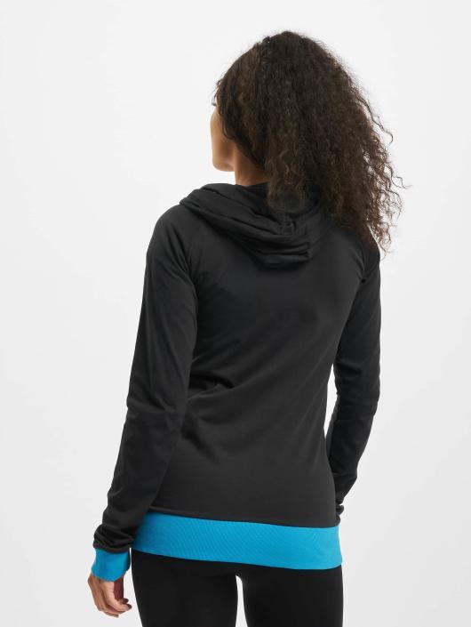 Urban Classics Zip Hoodie 3 Color Jersey svart