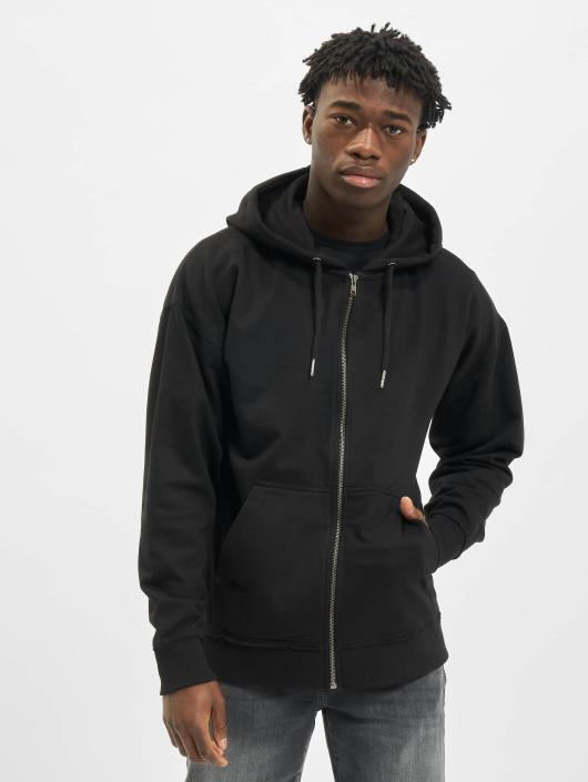 Urban Classics Zip Hoodie Oversized svart