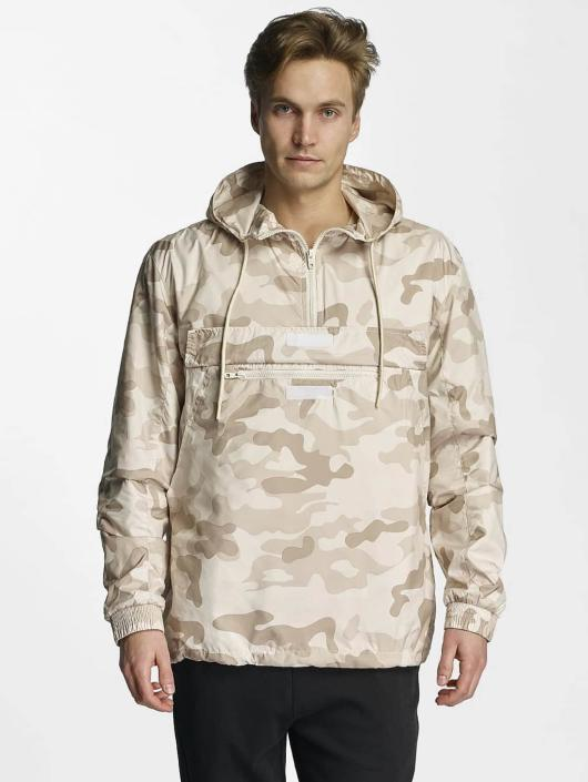 Urban Classics jas Zomerjas Camo Pull Over in camouflage