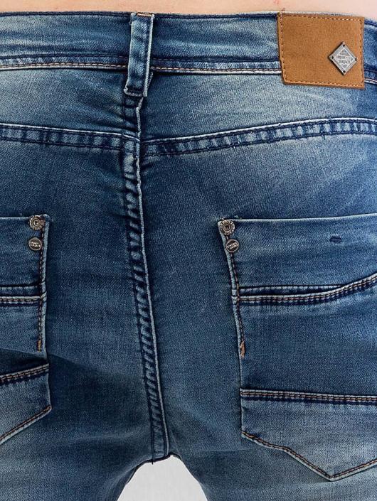 Urban Surface Skinny Jeans Sweat Denim Optics blau