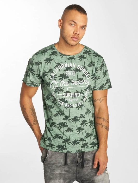 Urban Surface T-Shirt Sunset green