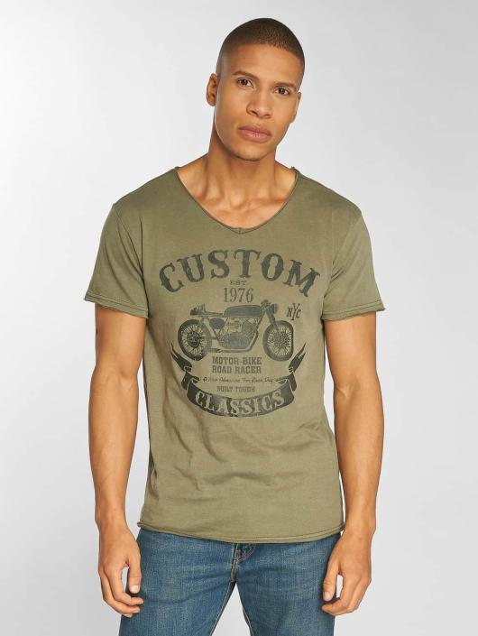 Urban Surface T-Shirt Custom olive