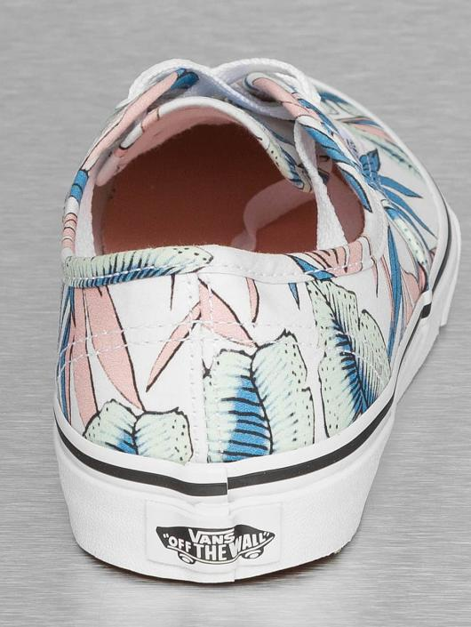 Vans Sneakers Authentic Tropical Leaves white