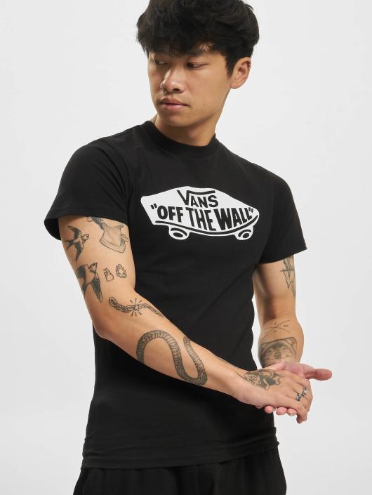 Vans Off The Wall T Shirt BlackWhite
