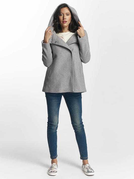Vero Moda Abrigo vmCollar Wool gris