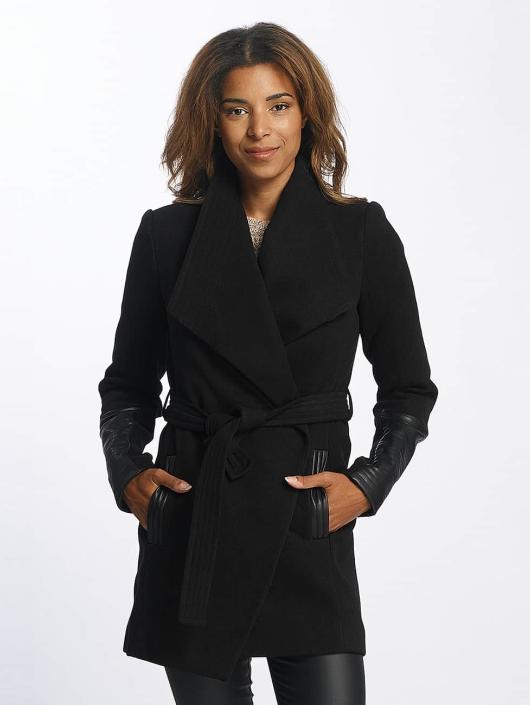 Mujeres Abrigo vmCala in negro Precioso Vero Moda - Mujer Ropa KWSXYGS