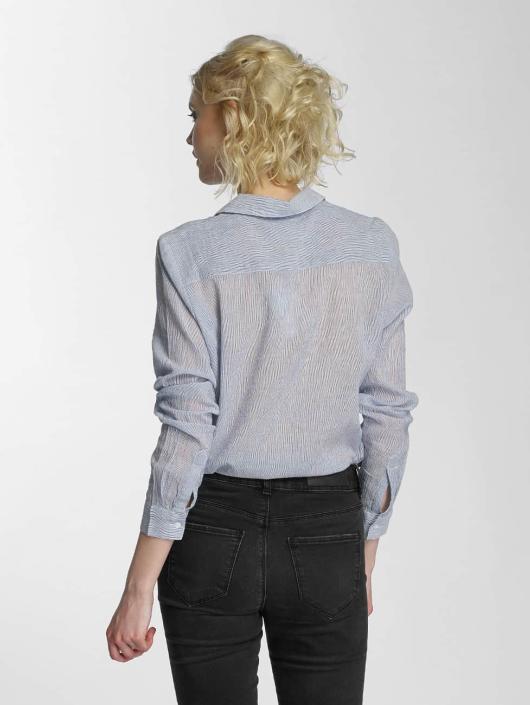 Vero Moda Blúzky/Tuniky vmBasa Midi Woven modrá