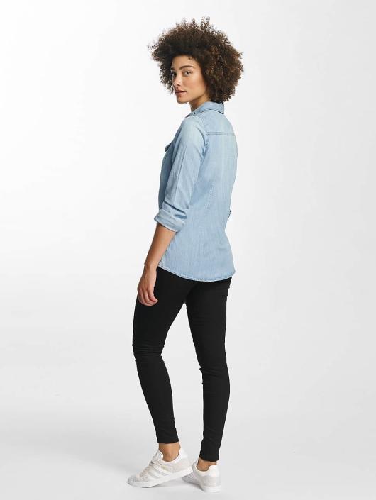 Vero Moda Blouse/Tunic vmViola Embroidery blue