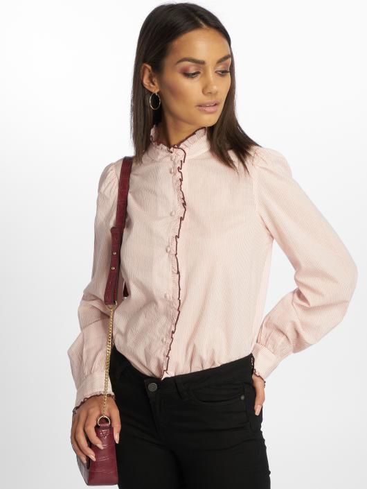 Vero Moda Bluzka/Tuniki vmClaudia rózowy