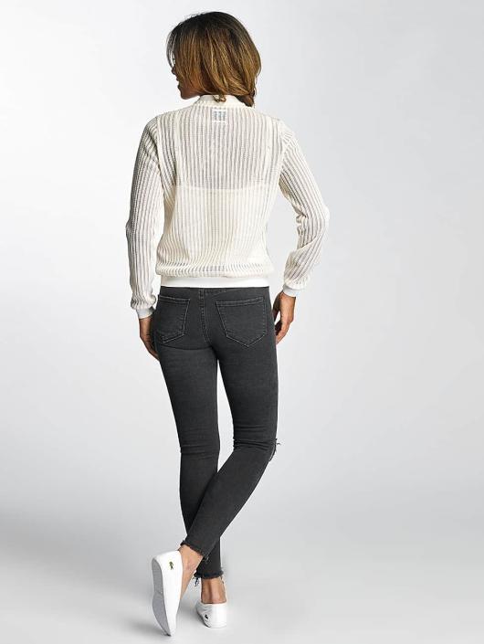 Vero Moda Bomberová bunda vmElrose biela