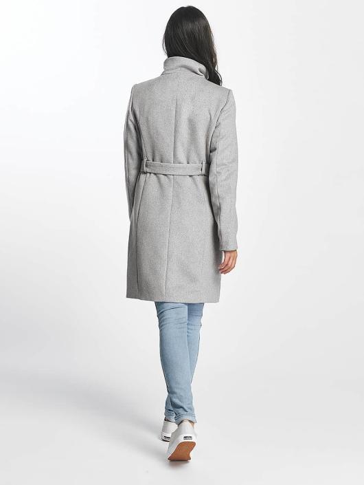 Vero Moda Kabáty vmPrato šedá