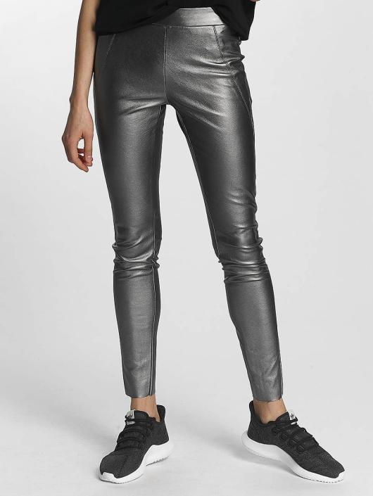 Vero Moda Legging/Tregging vmSevena Slim Metal plata