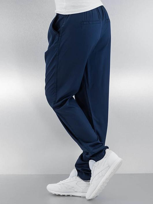 Vero Moda Pantalon chino vmFirst Elegant Loose String bleu