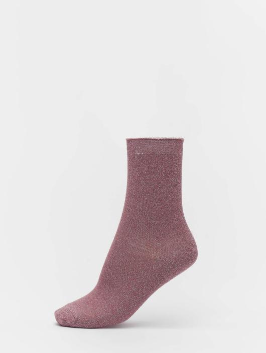 Vero Moda Ponožky vmGlitter pink