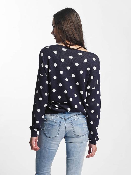 Vero Moda Pullover vmDotty Oversize blau