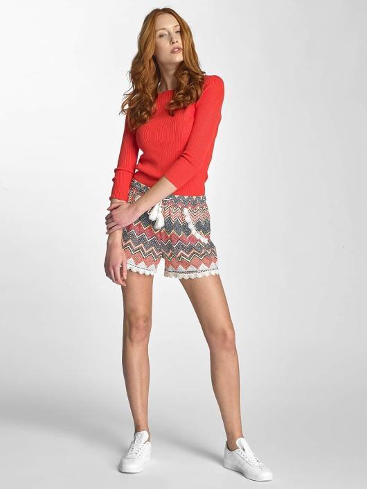 Vero Moda Pullover vmEmma 3/4 Squared Neck rot