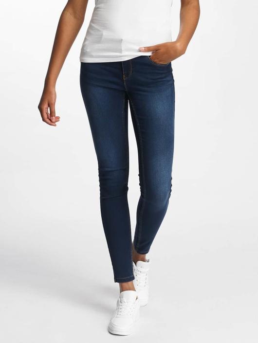 Vero Moda Skinny Jeans vmSeven Shape Up blau
