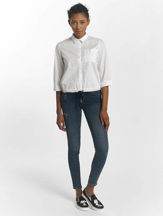 Vero Moda Skinny Jeans vmFive niebieski