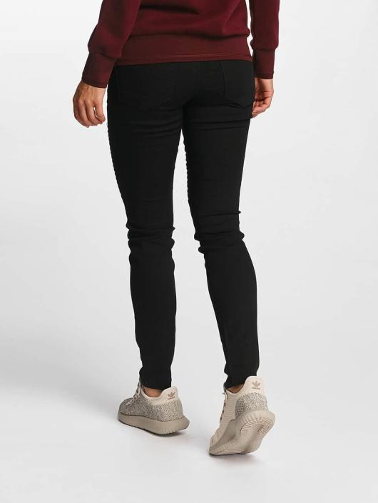 Vero Moda Skinny Jeans vmSeven Biker schwarz