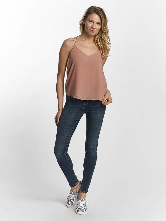 Vero Moda Slim Fit Jeans vmSeven Super Slim blå