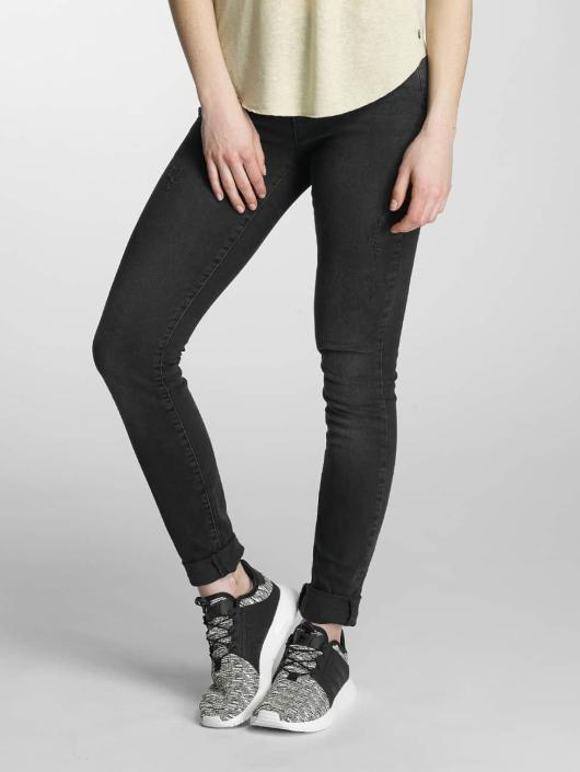 Vero Moda Slim Fit Jeans vmSeven sort