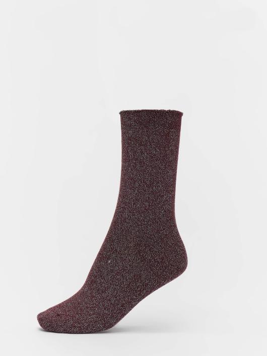 Vero Moda Sokker vmGlitter red