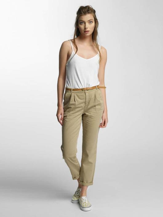 Vero Moda Spodnie wizytowe vmDonny bezowy
