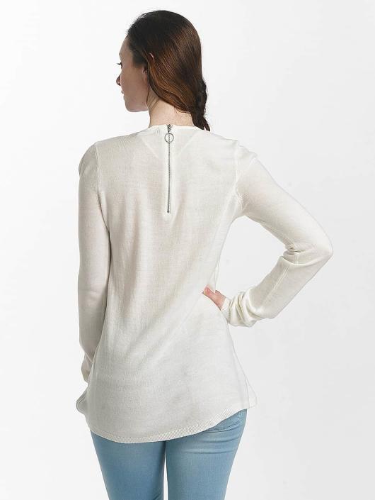 Vero Moda Swetry vmSami bialy