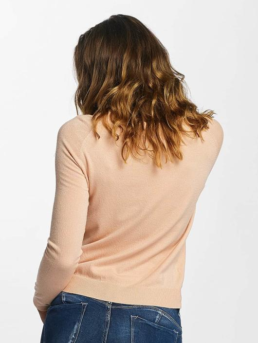 Vero Moda Swetry vmHappy rózowy