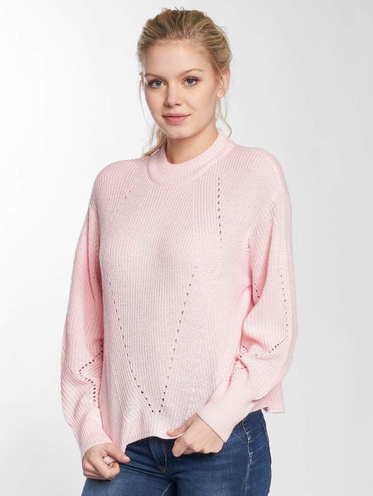 Vero Moda Swetry vmRachel rózowy