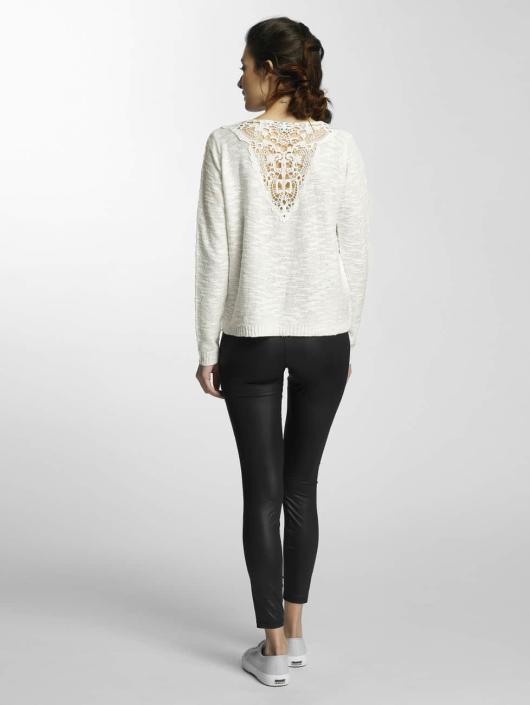 Vero Moda Swetry rozpinane vmAnnabel bialy