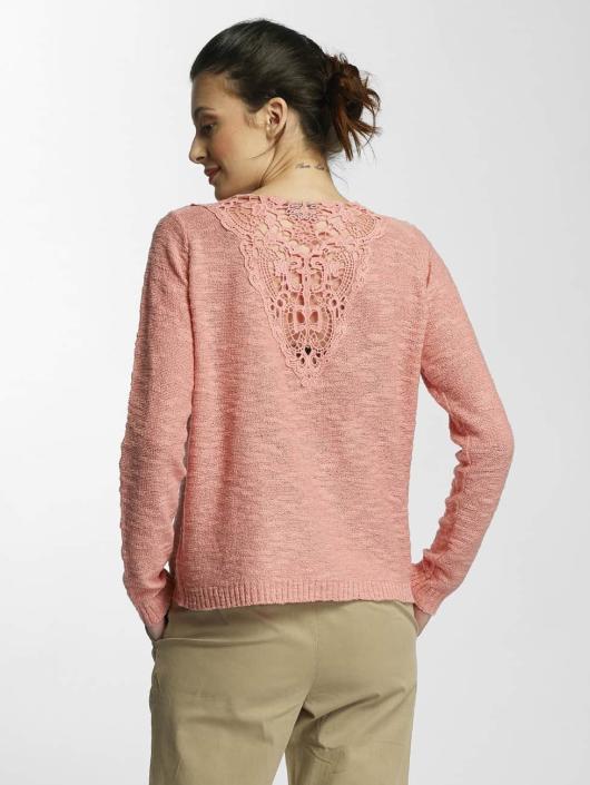 Vero Moda Swetry rozpinane vmAnnabel pomaranczowy