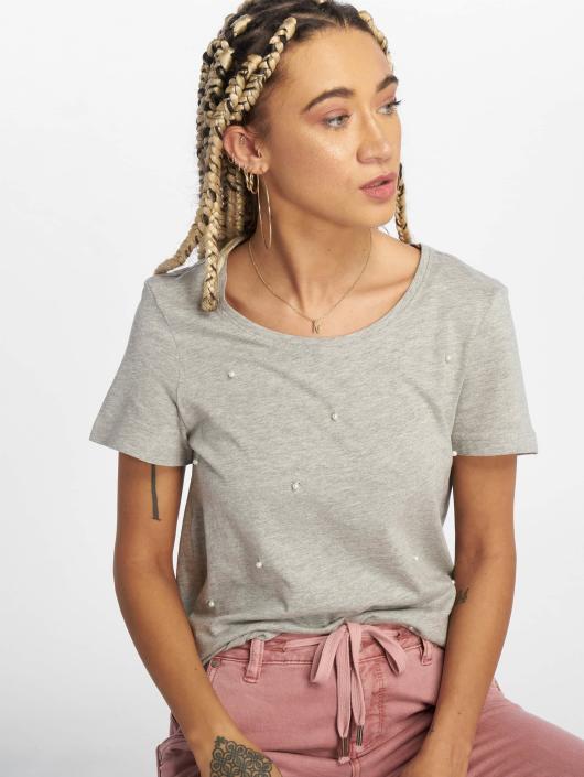 48c20c3007bb7 Vero Moda   vmAdelie gris Femme T-Shirt 535161