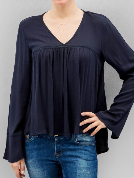 Vero Moda T-Shirt manches longues vmBisla bleu