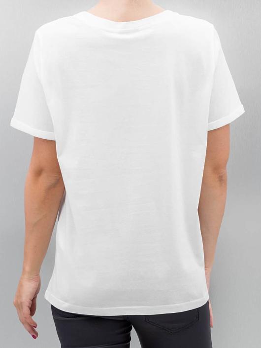 Vero Moda T-Shirt vmWilly Patch weiß