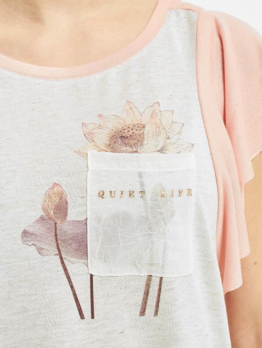 Vero Moda T-skjorter vmLife rosa