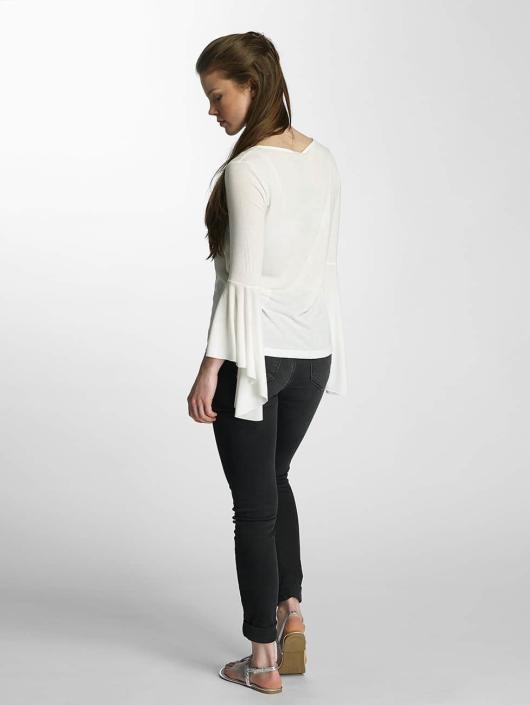 Vero Moda Tričká dlhý rukáv vmHonie Flare biela