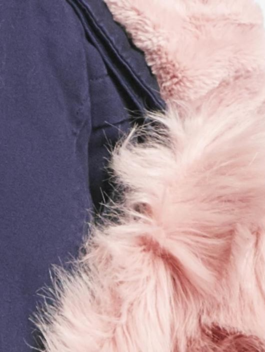 Vero Moda Zimné bundy vmRenia modrá