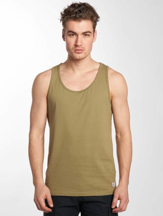 Vintage Industries Tank Tops Cruzer oliven