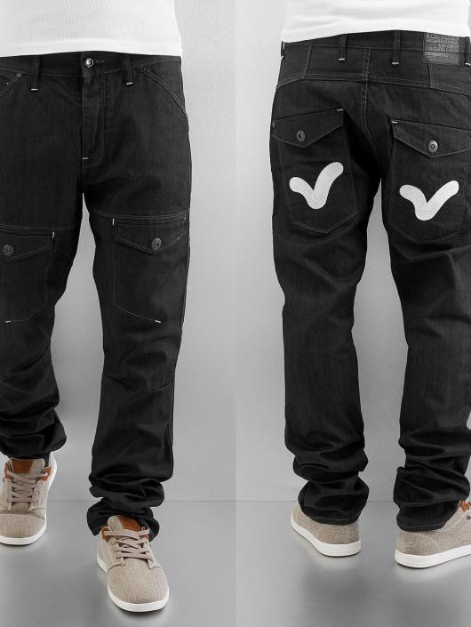 Voi Jeans Straight Fit Jeans Colac schwarz