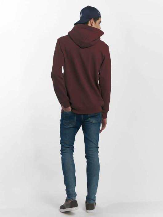 Volcom Hoodie Supply Stone red